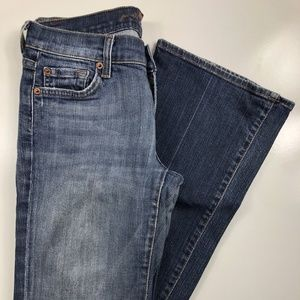 7 for all mankind Light Wash Bootcut Jeans FB31